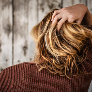straightening-hair